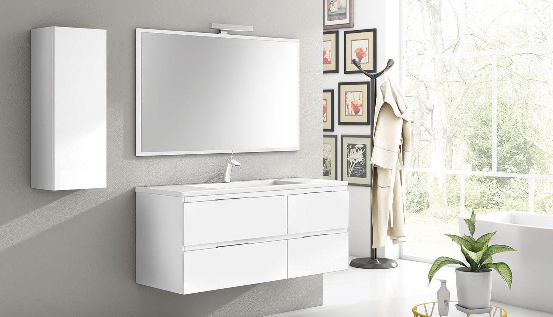 Muebles de Baño Florencia Blanco - Lorca