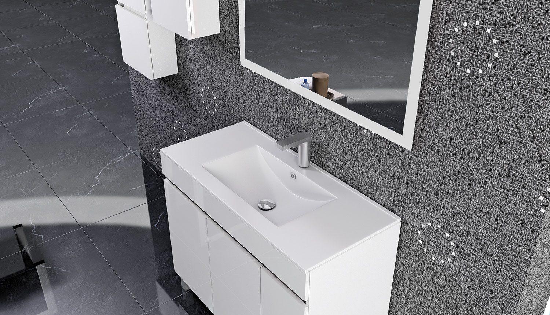 Mueble de Baño Oporto Blanco